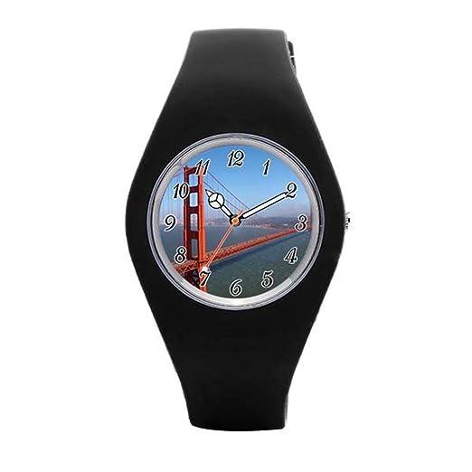 blue-skys Golden Gate National Recreation Area reloj de pulsera: Amazon.es: Relojes