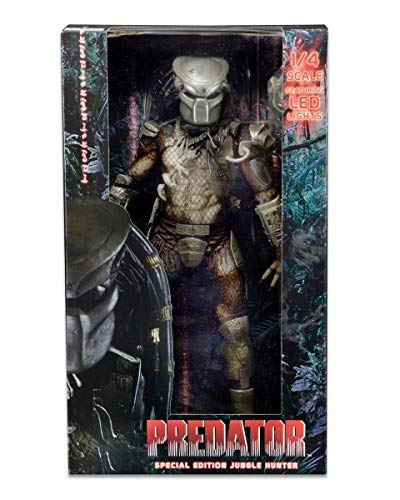 NECA Predator Jungle Hunter Predator Action Figure with LED Lights (1/4th Scale)