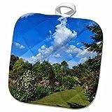3dRose Danita Delimont - Gardens - Artist, Schreiners Iris Gardens, Keizer, Oregon, USA - US38 RBR0488 - Rick A Brown - 8x8 Potholder (phl_146059_1) offers