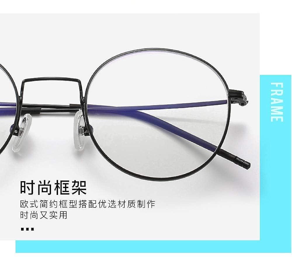 Gb Kk Eyes Anti-Blue Light Radiation Glasses Eye Protection Flat Mirror Without Degree Ultra Light Personality