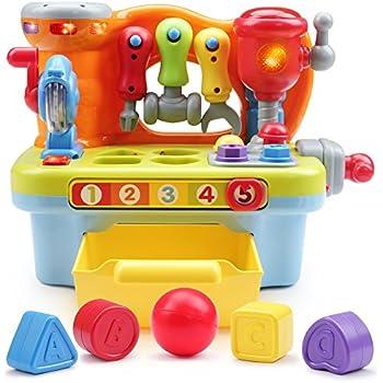 Amazon Com Toyk Multifunctional Music Learn Toolbox Kids