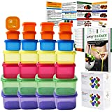 GAINWELL 21 Day Portion Control Container kit 28 Pieces