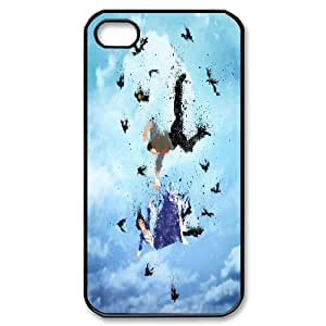 Fun Series, IPhone 4/4s Cases, Land of America Cases for IPhone 4/4s [Black]