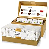 Tea Forté Warming Joy Presentation Box Featuring Seasonal & Festive Tea Blends - 20 Handcrafted Pyramid Tea Infusers