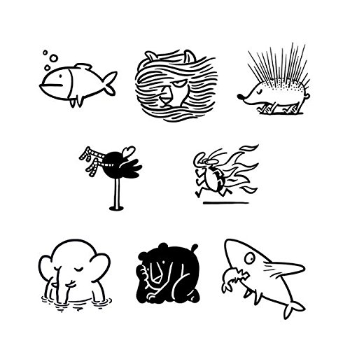 - Tattly Temporary Tattoos Petting Zoo, 1.1 Ounce