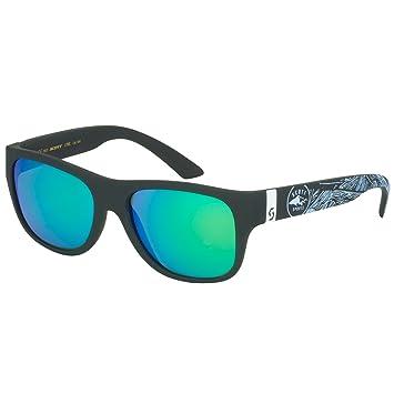 Scott Lyric Sport Sonnenbrille schwarz/weiß//grün chrom hycoOiRj