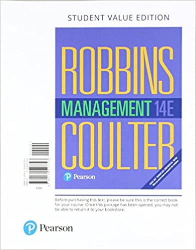 Management student value edition 14th edition stephen p robbins management student value edition 14th edition 14th edition fandeluxe Image collections