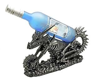Vin Draco Dragon Skeleton Bike Wine Holder