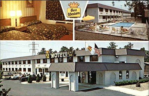 Best Western Leisure Inn Lakewood, New Jersey Original Vintage Postcard (Best Western Leisure Inn)