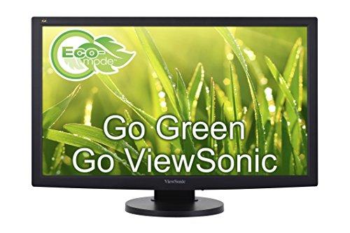 "ViewSonic VG2433SMH 24"" 1080p Ergonomic Monitor HDMI, DVI, VGA"