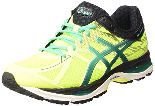 ASICS - Gel-cumulus 17, Zapatillas de Running hombre Amarillo (flash Yellow/pine/black 0788)