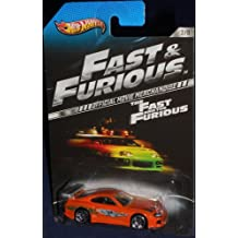 TOYOTA SUPRA Hot Wheels Fast & Furious Series Orange Toyota Celica Supra Limited Edition 1:64 Scale Collectible Die Cast Metal Toy Car Model