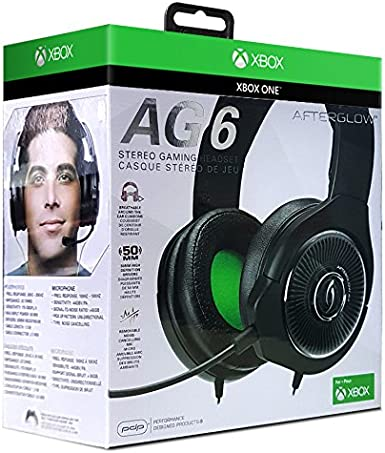 Pdp - Auricular Stereo Afterglow AG6 con Cable (Xbox One): Amazon ...