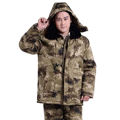 Sleeve Winter Outerwear Young Long Down Jackets Winter Jacket Warming Warm Camouflage Jacket Parka Fashion 3 Jackets Jacket Jacket Men's Hooded Long 7BdwqAA