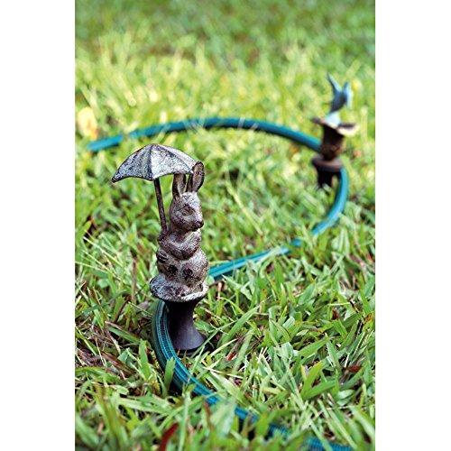 - SPI Home 33145 Bunny Holding Umbrella Hose Guard