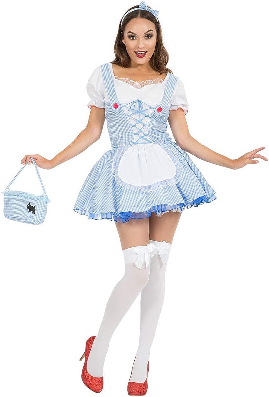 Adult Kansas Farm Girl Costume: Amazon.es: Ropa y accesorios