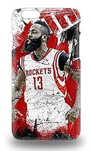 Excellent Iphone 6 3D PC Case Tpu Cover Back Skin Protector NBA Houston Rockets James Harden #13 ( Custom Picture iPhone 6, iPhone 6 PLUS, iPhone 5, iPhone 5S, iPhone 5C, iPhone 4, iPhone 4S,Galaxy S6,Galaxy S5,Galaxy S4,Galaxy S3,Note 3,iPad Mini-Mini 2,iPad Air )