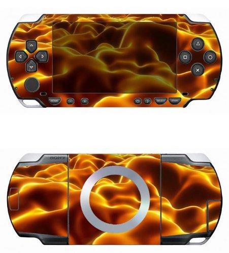 Dark Fire Vinyl Decal Skin Sticker for Sony PSP 1000
