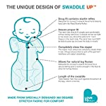Love-To-Dream-Swaddle-UP-Organic-Mint-Small-8-13-lbs-Dramatically-Better-Sleep-Allow-Baby-to-Sleep-in-Their-Preferred-arms-up-Position-for-self-Soothing-snug-fit-Calms-Startle-Reflex
