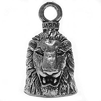 Guardian® Lion Motorcycle Biker Luck Gremlin Riding Bell or Key Ring: Automotive