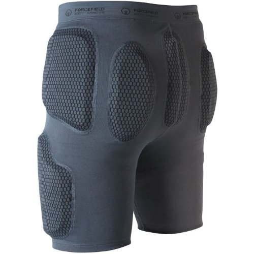Forcefield Pro Armour Impact Shorts - Grey XL by ForceField