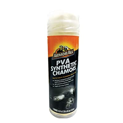 Armor All Car Cleaner, PVA Synthetic Chamois for Cars, Truck, Motorcycle, Pack of 1, 17613: Automotive