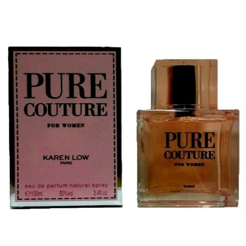 Karen Low Pure Couture Eau de Parfum Spray for Women, 3.4 Ounce