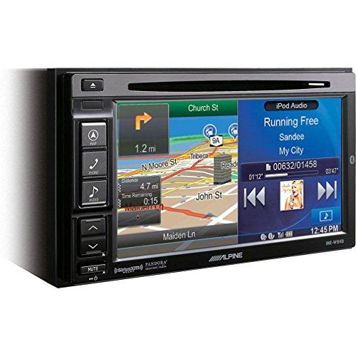 """Alpine INE-W940 6.1"""" Bluetooth USB MP3 Multimedia DVD/GPS Receiver"""