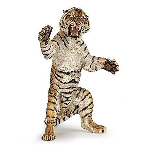 (Papo Standing Tiger Figure, Multicolor)