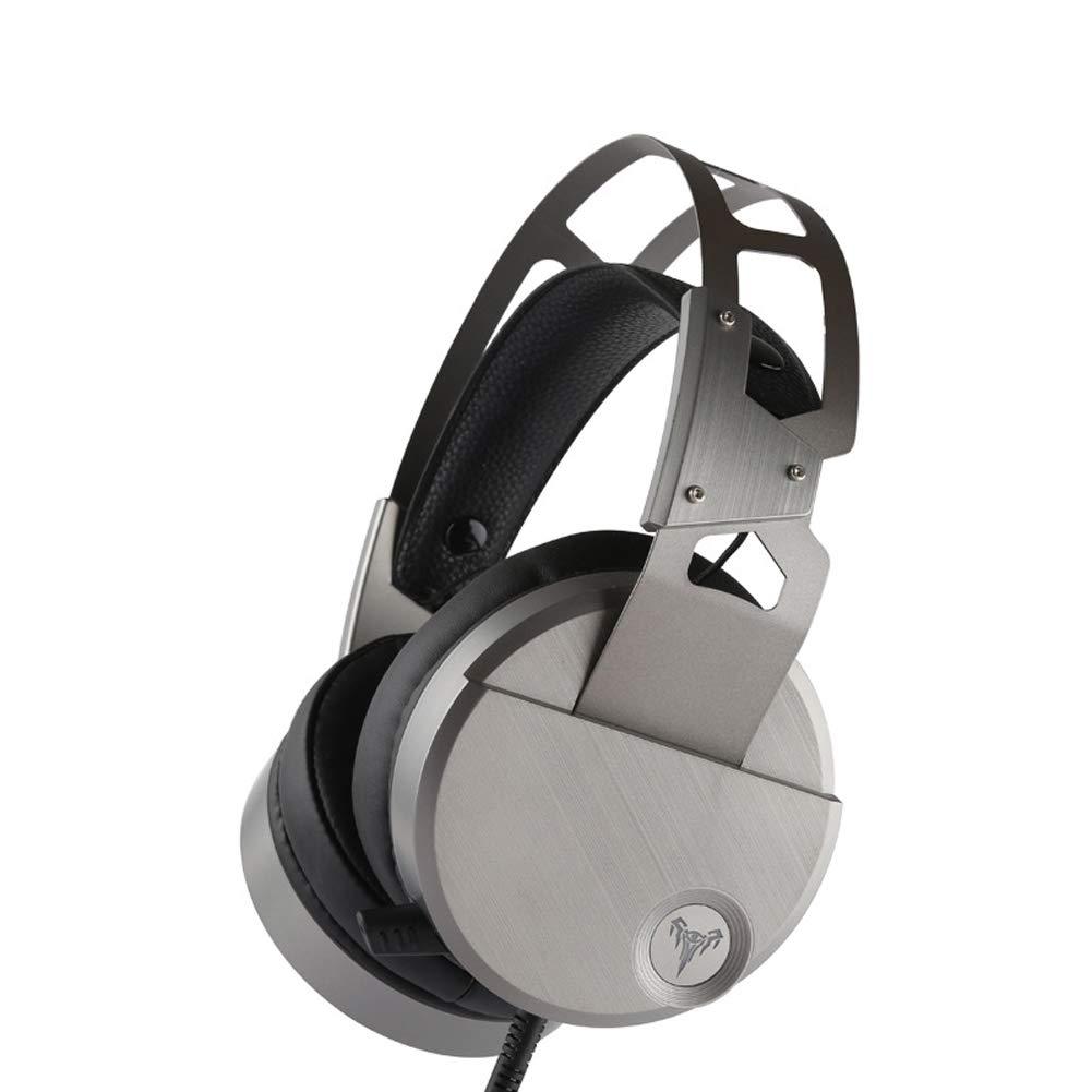 KERVINJESSIE ゲーミングヘッドセット サラウンドステレオ サウンド 人間工学に基づいたUSB 有線合金ヘッドフォン PC、Xbox One、PS4、Nnintedoスイッチ用 Short mic KERVINJESSIE B07HJ2KPW2  Short mic