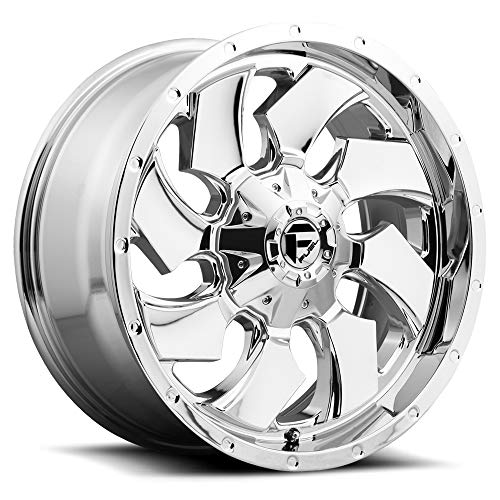 Fuel Cleaver 20 Chrome Wheel / Rim 6x135 & 6x5.5 with a 1mm Offset and a 106.4 Hub Bore. Partnumber D57320909850 ()