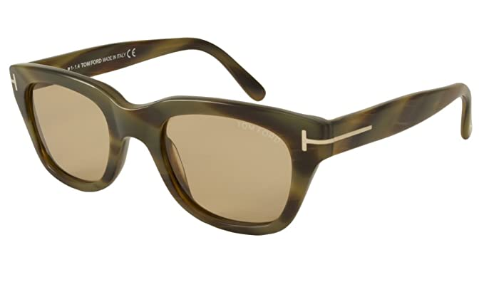 fbd43c66fb7 Image Unavailable. Image not available for. Colour  Tom Ford Snowdon FT0237  62J 50 Mens Sunglasses
