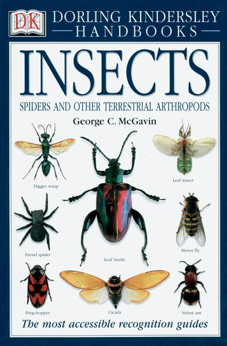 Insects, Spiders and Other Terrestrial Arthropods - Book  of the Smithsonian Handbooks