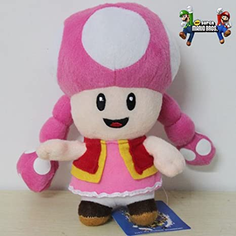 "Amazon.com: 2 x Super Mario Bros 6"" Toadette & Baby ..."