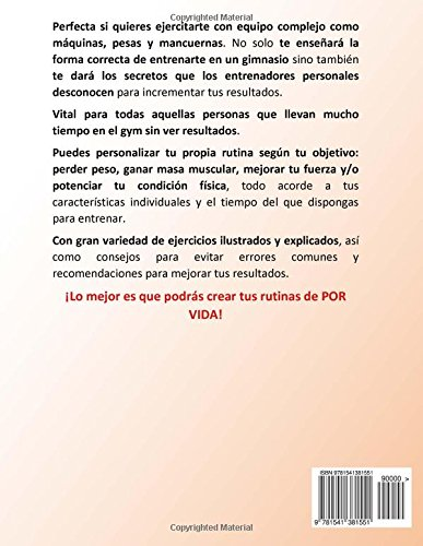 Tu Entrenador Sin Limites Vol.2 - La Guia De Por Vida Para Entrenar En El Gym: Version Estandar (Volume 2) (Spanish Edition): Joshua Leon: 9781541381551: ...