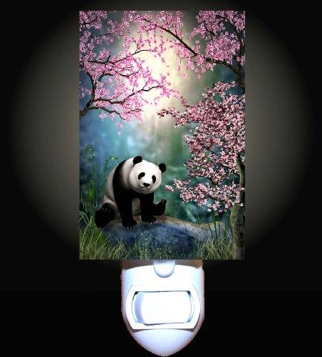 Cherry Tree Panda Decorative Night Light