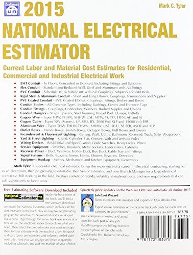 National Electrical Estimator 2015 - Buy Online in UAE
