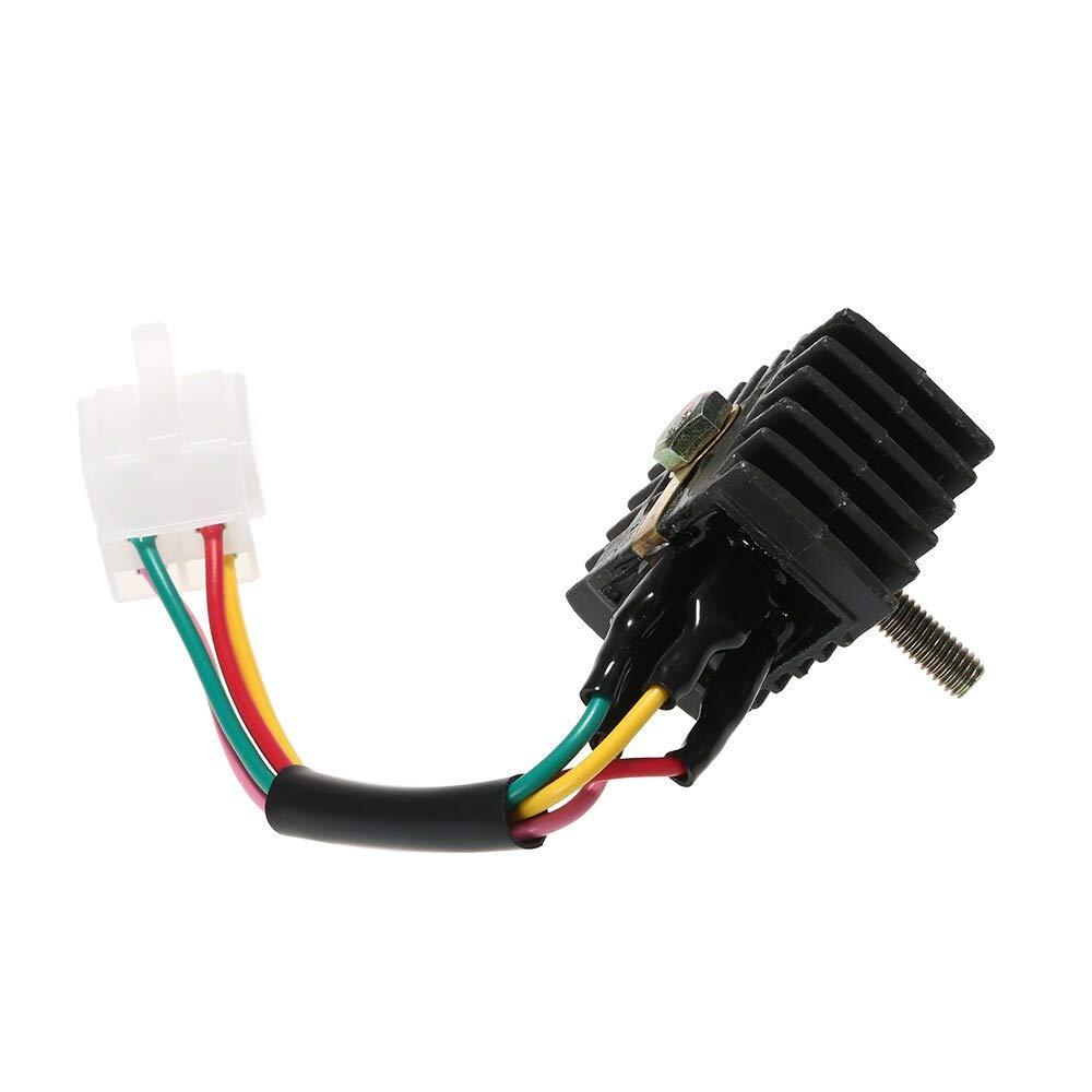 Star-Trade-Inc Voltage Regulator Rectifier for Honda CB100 CB125S CL100 CL100S CL125S CT90