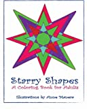 Starry Shapes A Coloring Book for Adults
