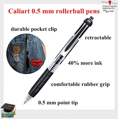 Review Caliart Retractable Gel Ink