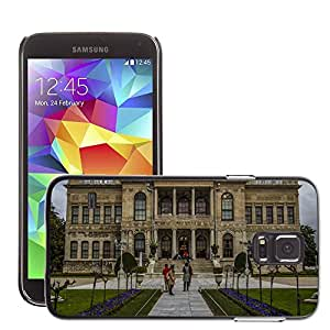 Etui Housse Coque de Protection Cover Rigide pour // M00150099 Turquía Estambul Dolmabahce Otomano // Samsung Galaxy S5 S V SV i9600 (Not Fits S5 ACTIVE)