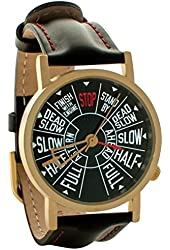 Steamship Telegraph Unisex Analog Water Resistant Novelty Gift Watch