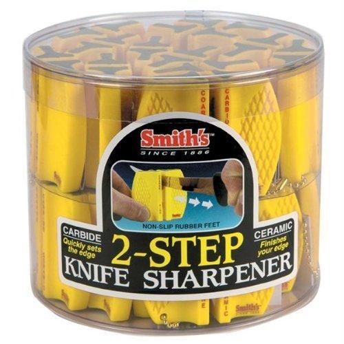Smith's Sharpeners CCKB Two-Step Knife Sharpener, 24 Units