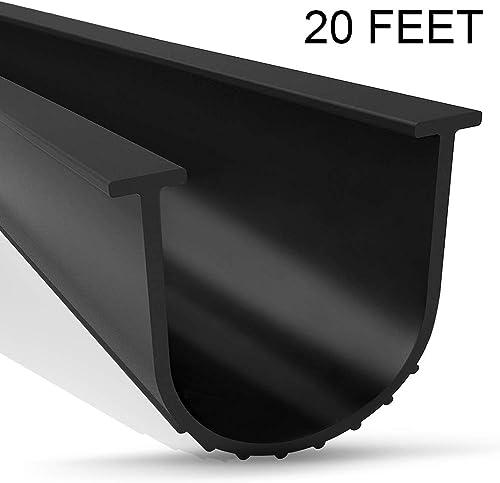 Hinged Wood 10/' Flexible Garage Door Threshold for Roll-up Walk-through Doors
