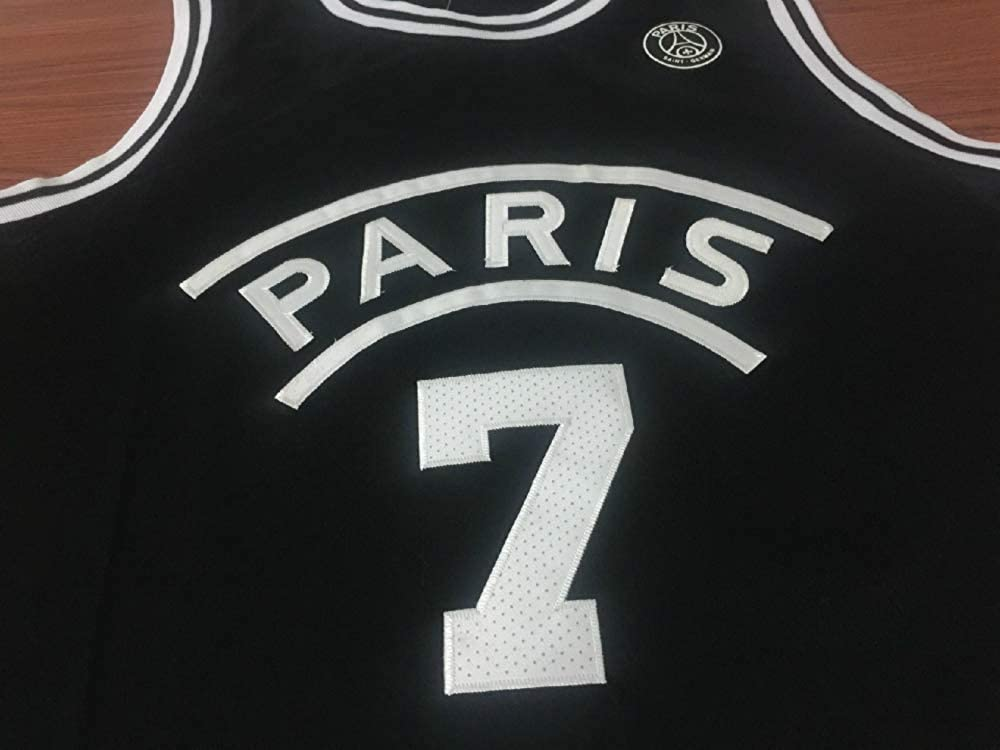 CRBsports Kylian Mbaps, Camiseta de Baloncesto, PSG, Bordado de Tela, Swag Sportswear, Medium, Negro: Amazon.es: Deportes y aire libre