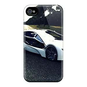 Awesome Bmw Concept Car Flip Cases With Fashion Design For Iphone 6 Plus