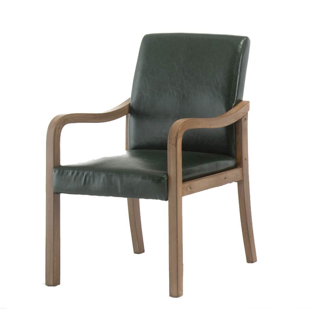 Lxn Moderna semplicit/à Cucina Sedie da Pranzo Tessuto//Cuscino in Similpelle con robuste Gambe in Legno massello per LUfficio di Home Hotels con braccioli