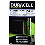 Duracell Fastest Smart Value Charger with 8AA Rechargeable Pre-charged Batteries