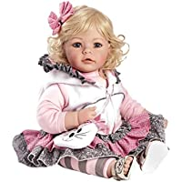 "Adora Toddler The Cat's Meow 20"" Girl Weighted Doll Gift Set for Children 6+ Huggable Vinyl Cuddly Snuggle Soft Body Toy"