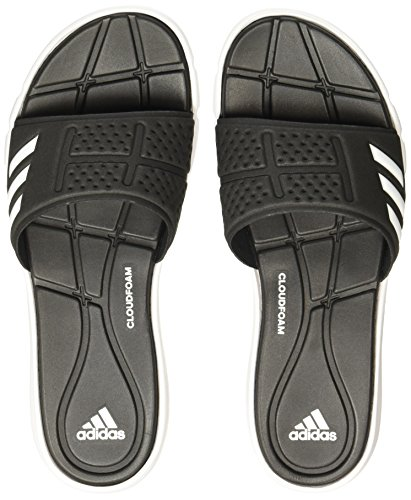 Adidas Adipure Cf W Negro Chanclas Sintéticas Blancas-negras